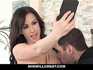 SheWillCheat steamy wifey Cheats with spouses fucking partner