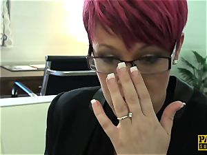 PASCALSSUBSLUTS - ginger-haired Bree Branning harshly ravaged